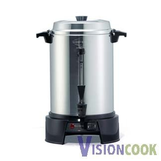 813: New West Bend Aluminum Coffee Maker Machine