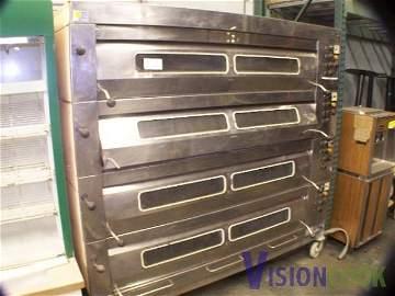 986: SVEBA Bakers AID 5 Deck Electric Bakery PIzza Oven