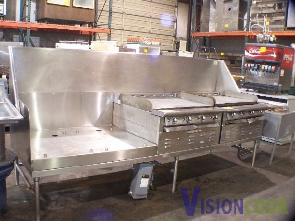 1507: Toastmaster Used commercial Grill Station electri