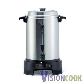 1517: New West Bend Aluminum Coffee Maker Machine