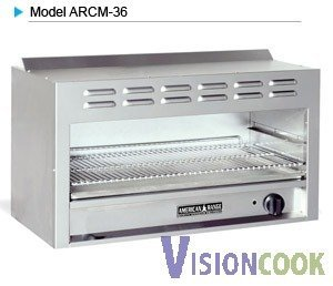 """1518: New 24"""" Infra-Red Cheese Melter Broiler"""