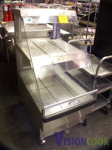 2001: USed Food Warmer Display Electric floor Model