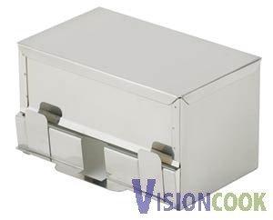 13: New Royal Commercial Stainless Straw Dispenser