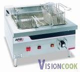 16: New APW Electric Countertop Deep Fat Grease Fryer