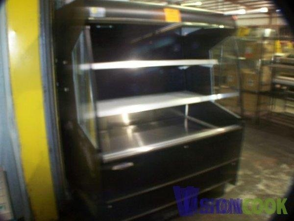507: Federal Open Front Display Deli Produce Cooler