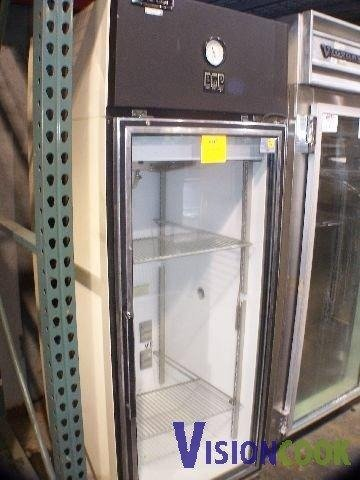 903: Puffer Hubbard Single Glass Door Cooler Refrigerat