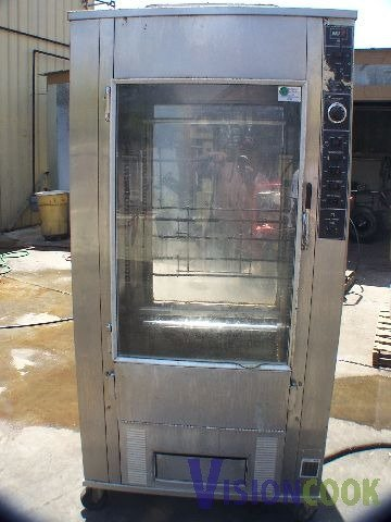 922: BKI Used commercial Chicken BBQ Rotisserie OVEN El