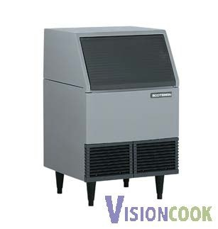 1147: NEW 400lb. Undercounter Ice Machine Flaker with B