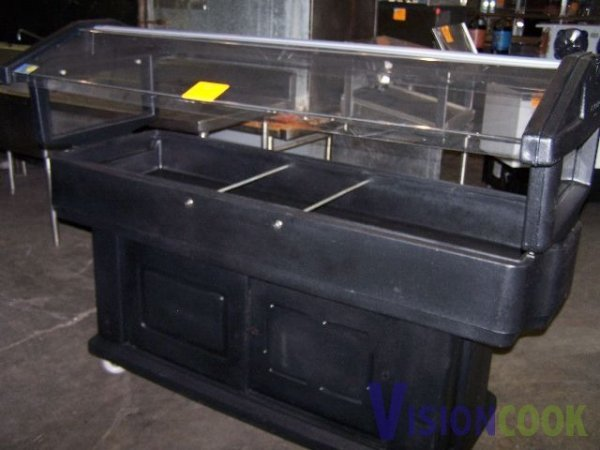 1305: Cambro Portable Salad Bar Ice Bin Catering