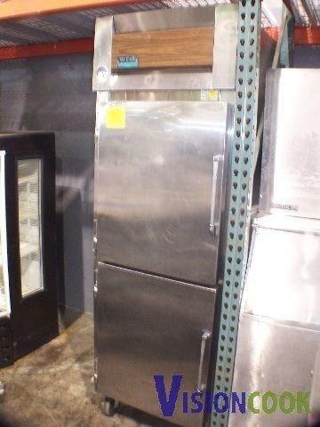 1314: McCall Commercial Split Door Refrigerator Cooler