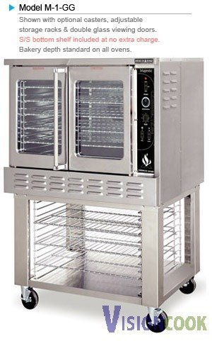 1449: New American Range Convection Oven GAS Heavy Duty