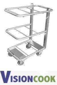 1719: New Cantilever Restaurant Utility Bus Cart