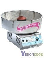"""1840: New Deluxe Whirlwind Cotton Candy Machine, 14""""H x"""