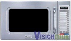 1864: New Commercial Stainless Microwave Oven 1100W - D