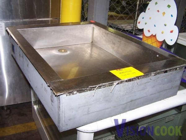 421: Stainless Commercial Drop In Ice Bin