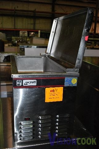 1210: Apw Wyott Countertop Cold Well Topping Bar