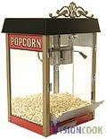 1218: New Antique Style 8oz. Popcorn Machine, 120v