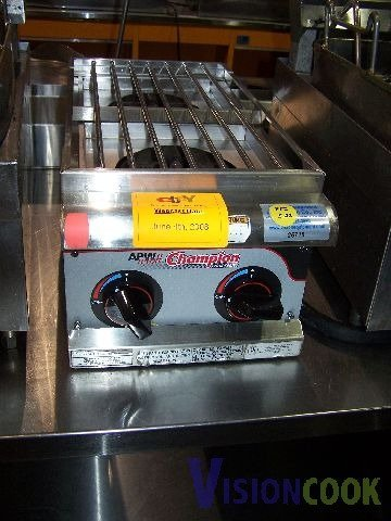 1: APW Commercial 2 Eye Burner Hot Plate Stove GAS