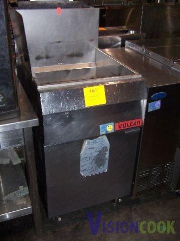 3: Vulcan TK65 Deep Fat Chicken Grease Fish Fryer GAS
