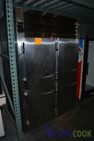 15: Traulsen 2 Split Door Cooler Refrigerator