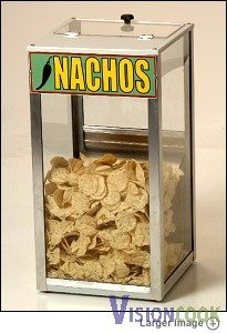 313: New Nacho Chip Concession Warmer Cabinet Display