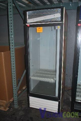 716: True GDM-23 Commercial Glass Door Refrigerator