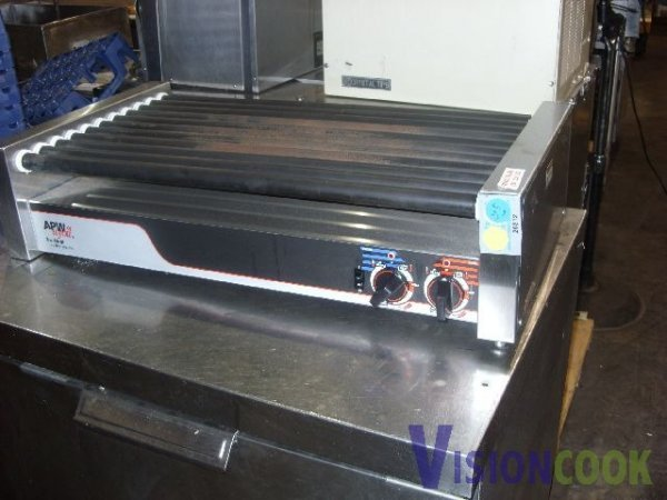 718: APW Commercial Hot Dog Roller Rolla Grill