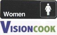 722: New Women Restroom / Bathroom Sign