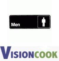 723: New Men Restroom / Bathroom Sign