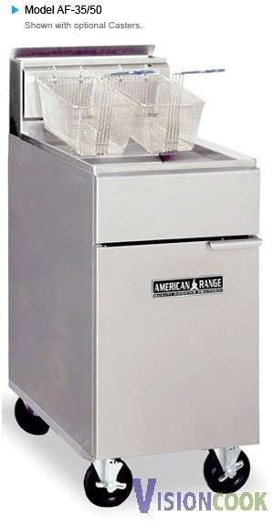 913: New Deep Fat Fryer w/ Full Size Stainless Frypots
