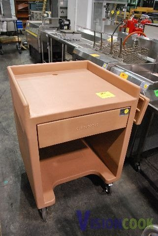 1022: Cambro Cash Register Catering Stand