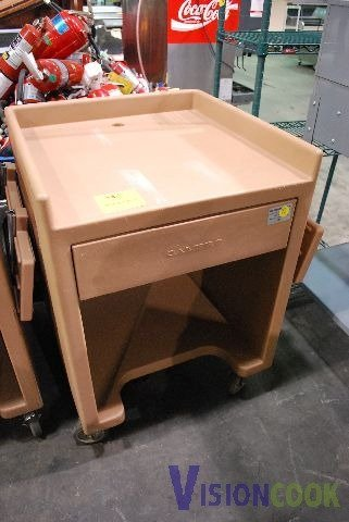 21: Cambro Cash Register Catering Stand