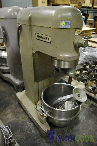 162: Hobart H-600 60 Qt. Dough Bakery Mixer 1 Phase