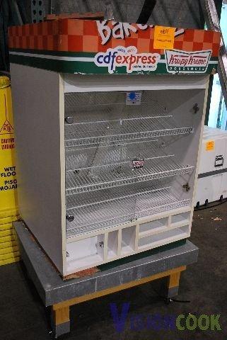 604: Custom Bakery Donut Display Case