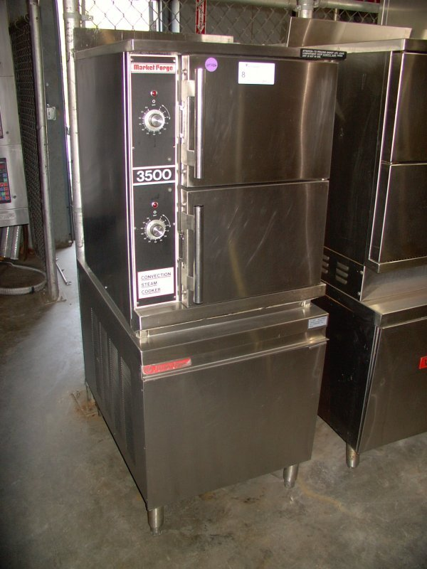 8: MARKET FORGE DOUBLE STACK CONVECTION STEAMER