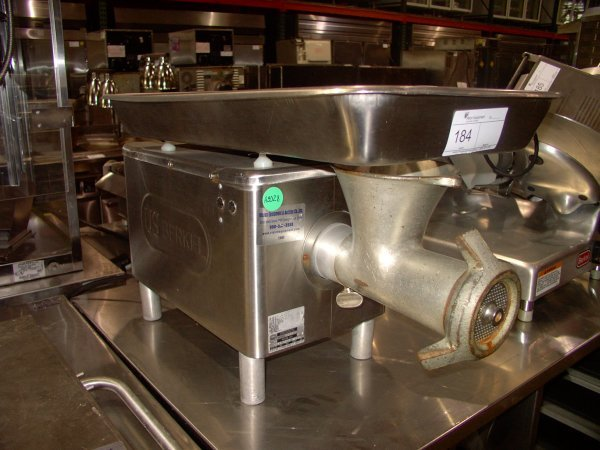 184: BERKEL E222 COUNTERTOP MEAT GRINDER!