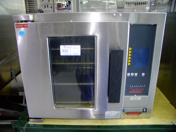 332: LANG HALF SIZE ELECTRIC CONVECTION OVEN!