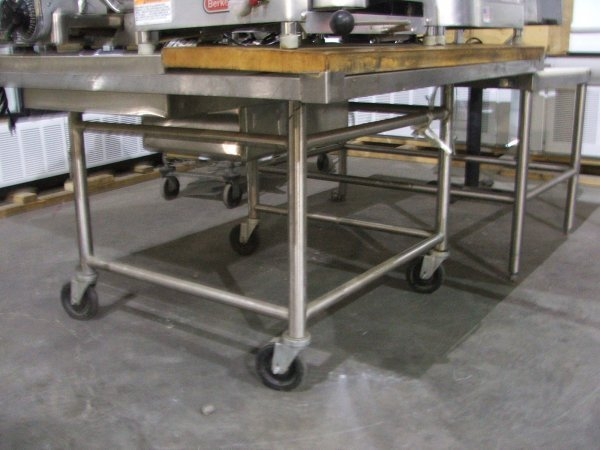 11: Used Bakery Commercial Prep Table