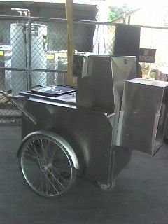 18A: Hot Dog Concession Cart