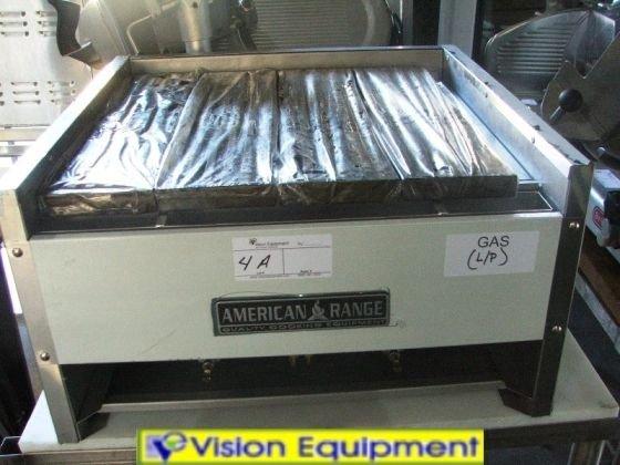 4B: american range new aecb24 char grill gas