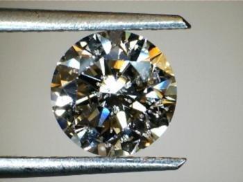 1.26 CT Round O I2 Loose Diamond! GIA