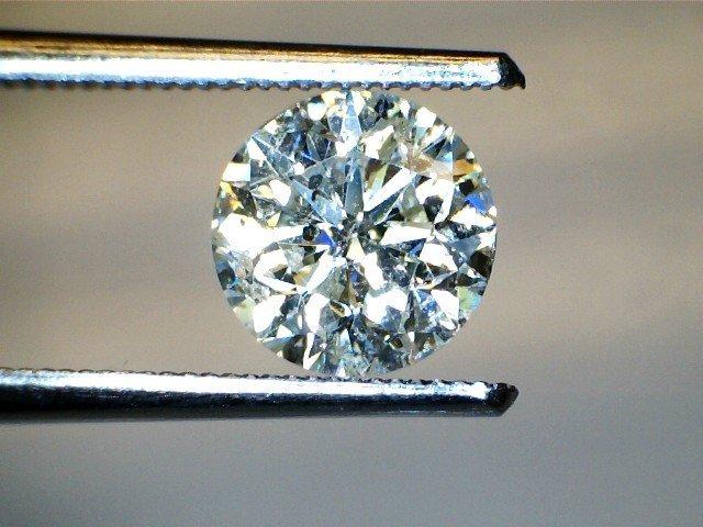 1.07 CT Round O I2 Loose Diamond! GIA