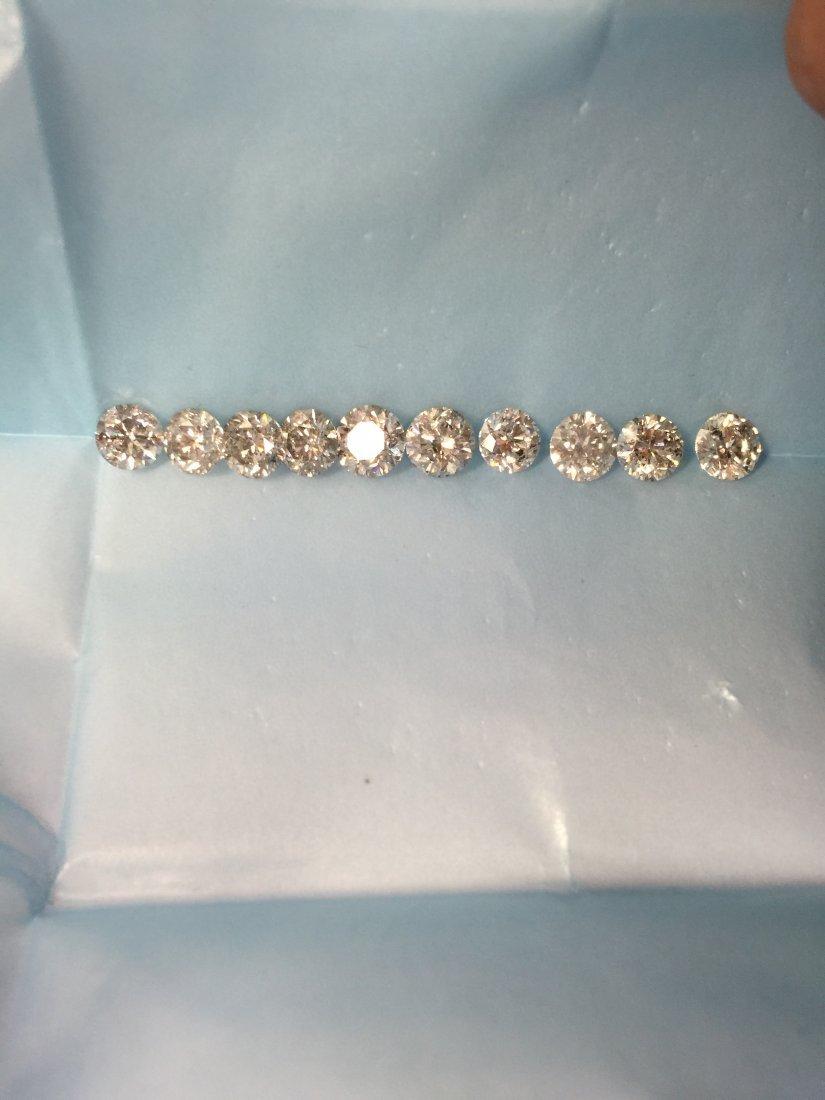 10PCS 1-1.45CT 11.27ct Shiny Collection Color Diamonds