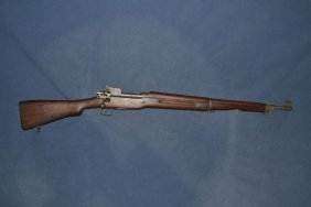 Us Model Of 1917 Eddystone 30cal Bolt Action Rifle,