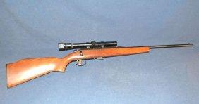 Remington Model 581 Bolt Action .22cal Rifle, Weaver