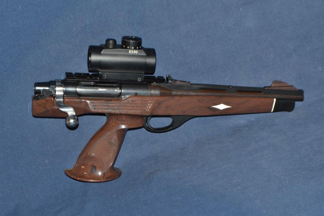 Remington model XP100 .221 Fireball single shot bolt
