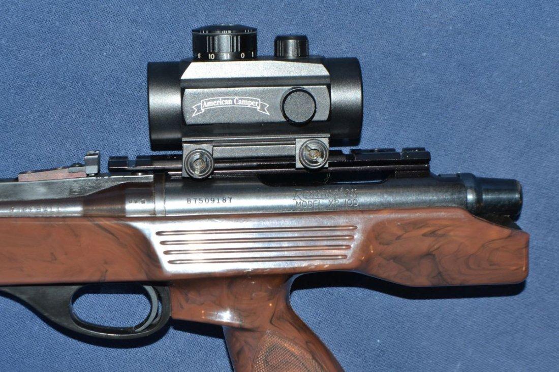 Remington model XP100 .221 Fireball single shot bolt - 4