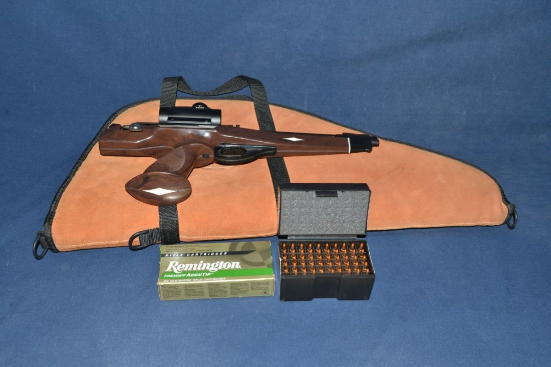 Remington model XP100 .221 Fireball single shot bolt - 5