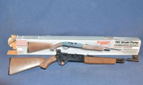 Crosman Model 781 Single Pump Air Rifle With Daisy Rear