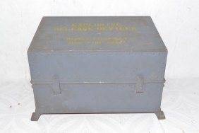 Aluminum Explosive Release Devices Container, Usn Ammo